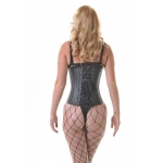 Buckled Black Leather Underbust  Corset****